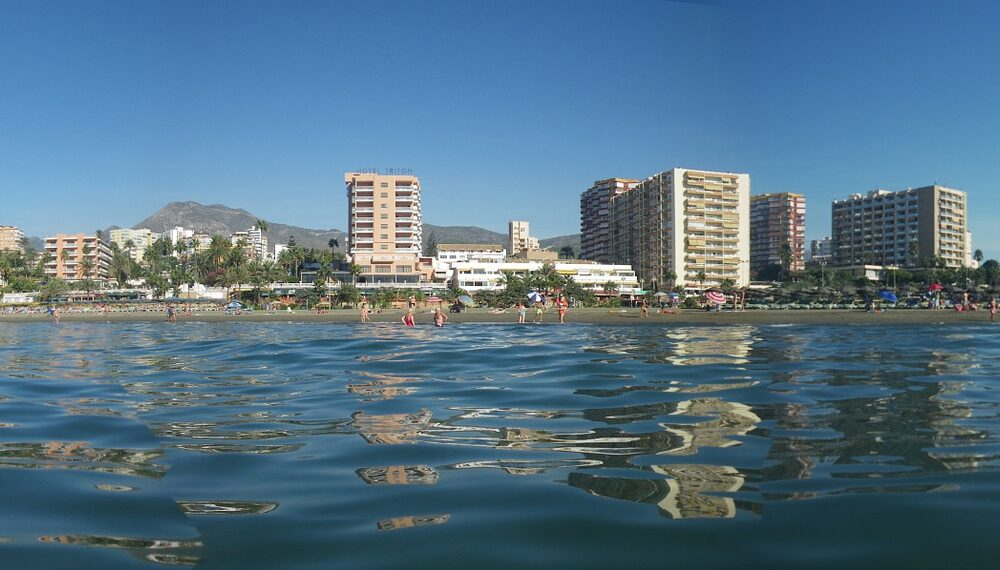 vista spiaggia malaga