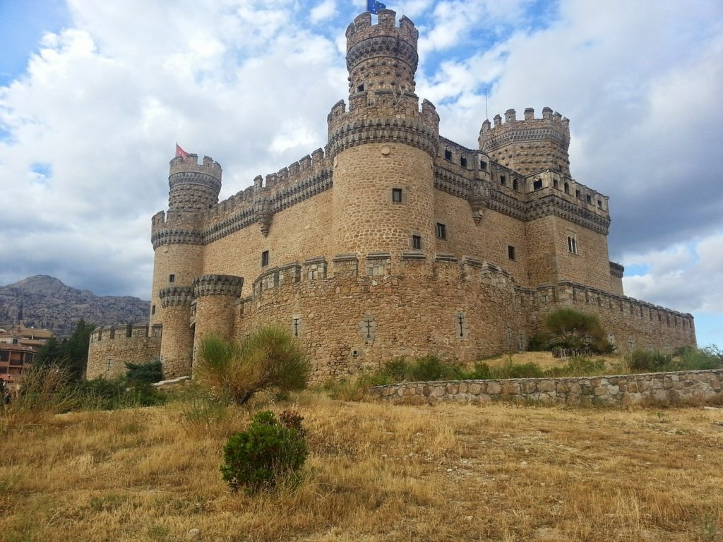 castillo manzanares comunidad madrid